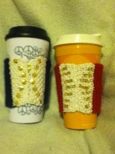 I don't have a book to give away yet. So I knit.