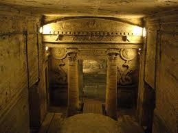 Saturnalia 3 - ancient Rome, underground catacombs