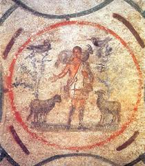 Saturnalia 4 - Christ as The Good Shepherd - 4th Century